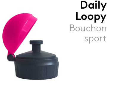 Image Bouchon_Sport_Loopy_Daily_ROSE