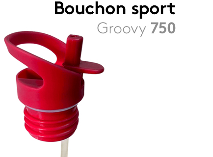 Image                 Bouchon_sport_Sporty1L_Groovy75+paille_rouge