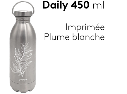 Image                 Daily_450ml_gourde_inox_plume_blanche