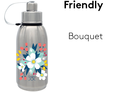 Image Friendly_gourde_isotherme_inox_bouquet